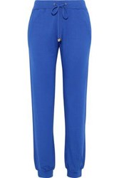 Versace French Terry Track Pants Royal Blue