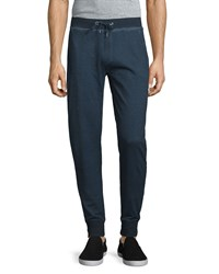 John Varvatos Cold Dye Drawstring Sweatpants Indigo Women's
