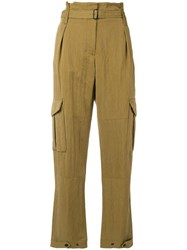 Rag And Bone Tilda Cargo Trousers Green