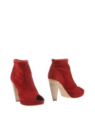 Norma J.Baker Ankle Boots Maroon