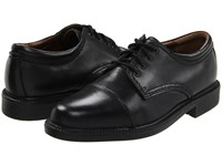 Dockers Gordon Cap Toe Oxford Black Polished Lace Up Cap Toe Shoes