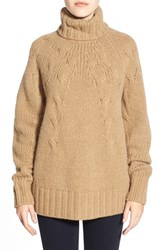 Women's Michael Michael Kors Cable Knit Turtleneck Sweater