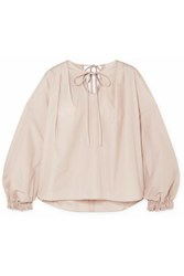 3.1 Phillip Lim Cotton Poplin Blouse Ecru