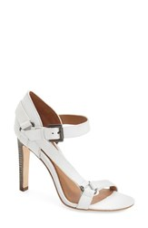 Women's Elie Tahari 'Tornado' Sandal Chrome Leather