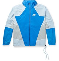 Nike Sportswear Re Issue Colour Block Nylon Ripstop Track Jacket Blue
