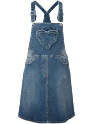 Love Moschino Denim Skirt Overall Blue