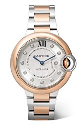 Cartier Ballon Bleu De 33Mm 18 Karat Pink Gold Rose Gold