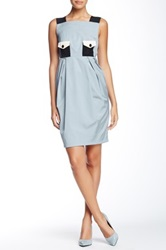 Orla Kiely Sleeveless Dress Gray