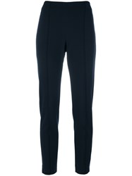 Le Tricot Perugia Jogger Style Trousers Women Polyamide Spandex Elastane Viscose S Blue