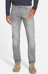 Agave 'Maverick' Slim Fit Selvedge Jeans Grey Vintage