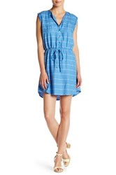 Jack Cortland Drawstring Dress Blue