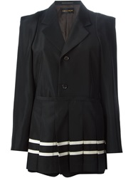 Comme Des Garcons Vintage Skirted Jacket Black