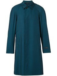Pal Zileri Button Down Coat Green