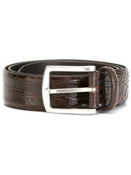 Andrea D'amico Buckle Belt Brown