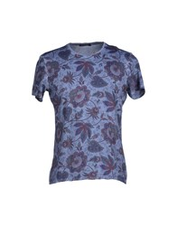 Roberto Pepe Topwear T Shirts Men Deep Purple
