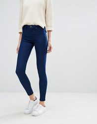 Warehouse The Ultra Skinny Cut Jean Indigo Raw Navy