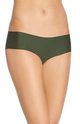 Women's Halogen 'No Show' Cheeky Hipster Briefs Green Mountain