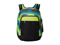 Quiksilver Schoolie Backpack Ag47 Vertigo Stripe Tarmac Backpack Bags Black