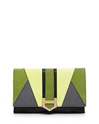 Milly Whitney Clutch Citron Multi