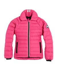 Canada Goose Youth Charlotte Quilted Jacket Summit Pink Xs Xl Girl's