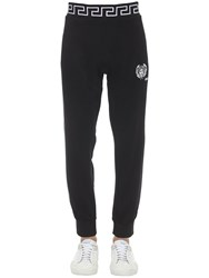Versace Logo Sweatpants Black