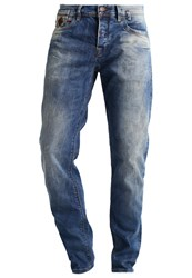 Ltb Servando Jeans Tapered Fit Avventura Wash Dark Blue Denim