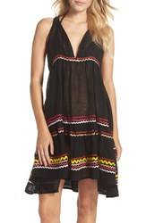 Muche Et Muchette Women's Mira Cover Up Dress Multi Black