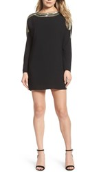Ali And Jay Women's The Set Up Embellished Minidress Black