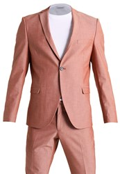 Selected Homme Shxzero Tadcanary Suit Faded Rose
