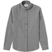 Maison Martin Margiela 14 Button Down Gingham Shirt Black