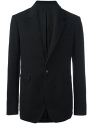 Haider Ackermann Fitted Single Breasted Blazer Black