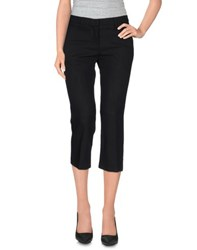 True Royal Trousers 3 4 Length Trousers Women Black