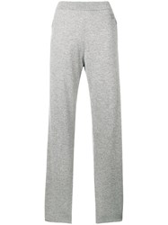 Givenchy Cashmere Track Trousers Grey