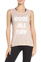Private Party Women's 'Rose All Day' Jersey Tee
