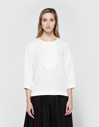 A.P.C. Cleo Blouse Egg Shell