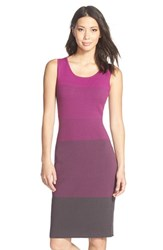 Women's Nydj Ombre Colorblock Sweater Dress