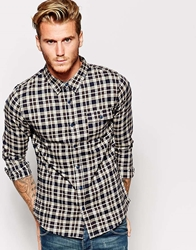 Another Influence Checked Flannel Shirt Brown