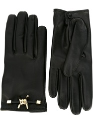 Dsquared2 Barbed Wire Gloves Black