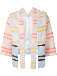 Suno Shoulder Cutout Jacket