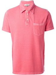 Esemplare Chest Pocket Polo Shirt Red