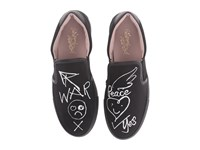 Vivienne Westwood Slip On Trainer Black White Women's Slip On Shoes