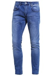 Revolution Slim Fit Jeans Bleached Blue Denim