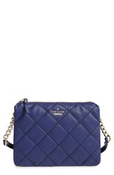 Kate Spade New York 'Emerson Place Harbor' Quilted Leather Crossbody Bag Blue Sapphire