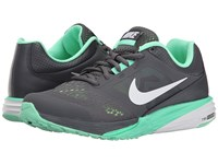 Nike Tri Fusion Run Dark Grey Green Glow Ghost Green White Women's Running Shoes Gray
