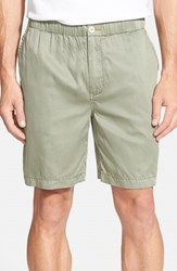 Men's Tommy Bahama 'Beachfront Lounger' Relaxed High Rise Shorts Soapstone Green