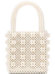 Shrimps Antonia Tote Bag White