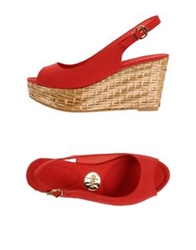 Ras Sandals Red