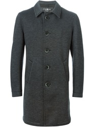 Hydrogen Single Breasted Coat Grey