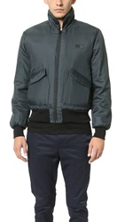 Patrik Ervell Flight Bomber Jacket Anthracite