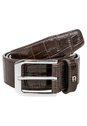 Aigner Belt Brown